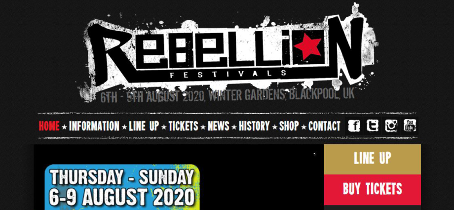 UK Rebellion Punk Fest 2020